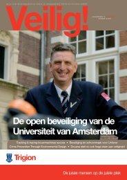 De open beveiliging van de Universiteit van Amsterdam - Facilicom
