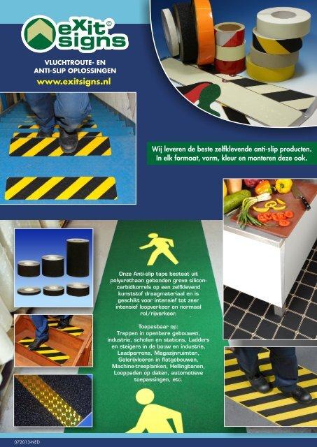 anti-slip folder - Exit Signs Groningen 06-127 794 70 - Home