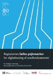 Se alle 15 nye pejlemærker her - Danske Regioner