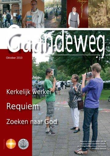 Gaandeweg oktober 2010 - Protestantse Gemeente Zwolle