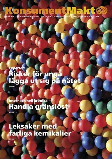 KM nr 5 2004 tryck.indd - Sveriges Konsumenter