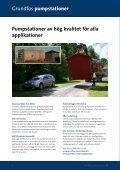 Stora prefabricerade pumpstationer - Grundfos AB - Page 2