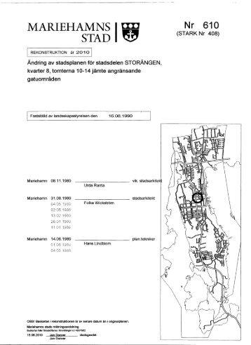 Stadsplan (520 kB) - Mariehamns stad