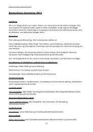 Bestyrelsens beretning 2012 - Nyborg Friskole
