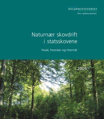 Naturnær skovdrift i statsskovene - Naturstyrelsen