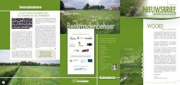 Nieuwsbrief Beekrandenbeheer (maart 2010) - Watering De ...