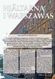 Hjältarna i Warszawas getto - Nordisk Filateli