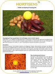 Trådløs overvågning af frugt og grønt - WEBStech