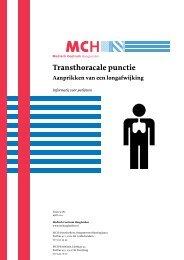Transthoracale punctie - Medisch Centrum Haaglanden