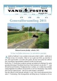 Generalforsamling 2011 - Grundejerforeningen Hundiegård