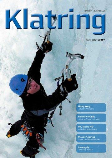 Nr. 1, marts 2007 Ausangate Hong Kong Mount Aspiring Mt. Merra ...