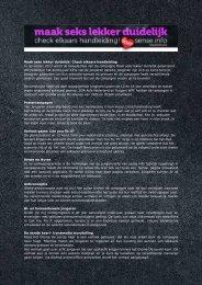 Nieuwsbrief september 2011 - Soa Aids Nederland voor professionals