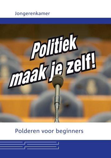 Politiek maak je zelf - Jongerenkamer