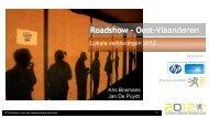 Presentatie Roadshow HP-Belgacom juni 2012 - Vlaanderen Kiest