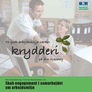 Skab engagement i samarbejdet om arbejdsmiljø - BAR - privat kontor.