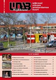 Maart 2013 - Wijkraad Nieuwe Amsterdamse Buurt Haarlem