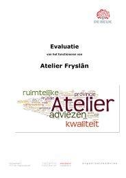 PDF Evaluatierapport - Atelier Fryslân