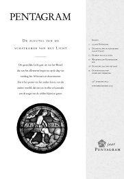 Pentagram 2003 nr. 5 - Lectorium Rosicrucianum