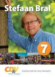 Klik hier en bekijk mijn 2012 brochure. - Stefaan Bral