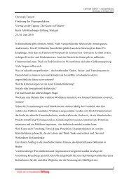 Vortrag - Karin Abt-Straubinger Stiftung