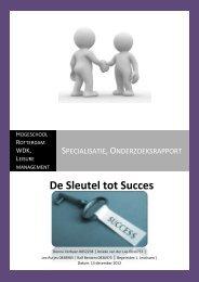 Specialisatie, Onderzoeksrapport - Get a Free Blog