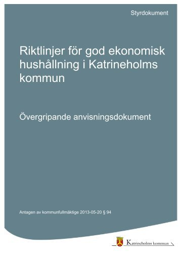 Riktlinjer för god ekonomisk hushållning i Katrineholms kommun.pdf
