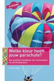 Welke kleur heeft jouw parachute? - Uitgeverij Nieuwezijds