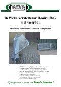 BeWeka Klauwbehandelwagen - Schapenadvies - Page 4