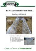 BeWeka Klauwbehandelwagen - Schapenadvies - Page 7