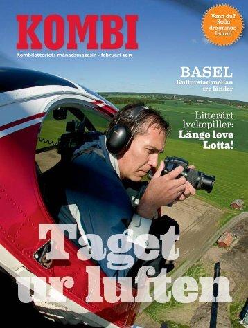 Kombi februari, nr 02-2013 - Kombispel.se