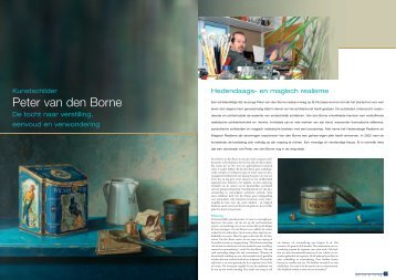 Klik hier om het te lezen - kunstschilder Peter van den Borne