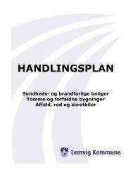HANDLINGSPLAN - Lemvig Kommune