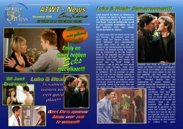 November 2009 - Fansite ATWT