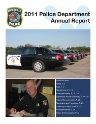2011 Police Department Annual Report - City of Naperville