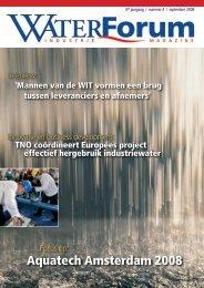 Aquatech Amsterdam 2008 - Waterforum
