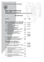 Referat - Byplan- og Boligudvalget - Ringsted Kommune