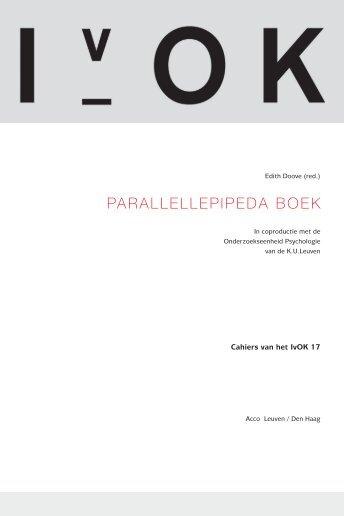 PARALLELLEPIPEDA BOEK - Gestalt ReVision