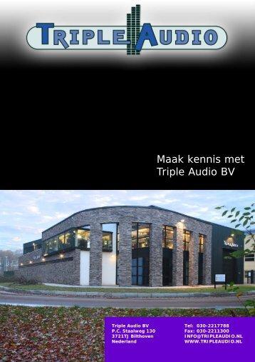 Triple Audio Brochure