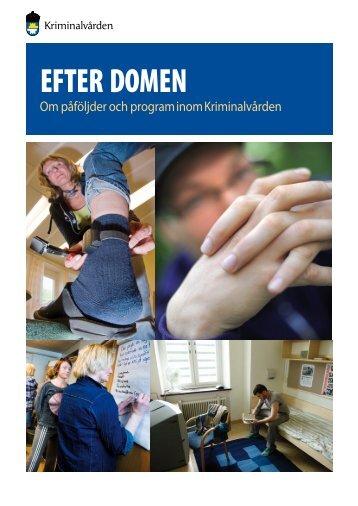 EFTER DOMEN - Kriminalvården