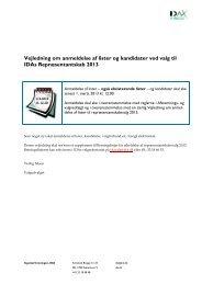 Vejledning om anmeldelse af lister og kandidater ved valg ... - IDAvalg