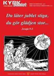 Du låter jublet stiga, du gör glädjen stor... - Kvistofta församling