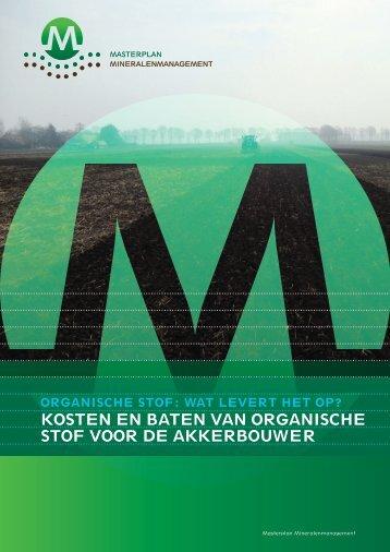 Brochure Kosten-Basten Organische stof (pdf, 5 ... - Kennisakker.nl