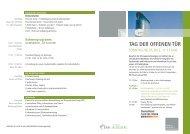 PM 120503 Programm Tag der offenen Tür - SRH Hochschule ...