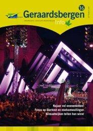 Infoblad 16 september 2009 - Stad Geraardsbergen