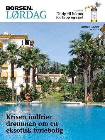Krisen indfrier drømmen om en eksotisk feriebolig Boligkup i ... - Ren