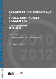 SKAGEN TRUCK SERVICE ApS TRUCK-KOMPAGNIET ... - DI