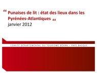 Punaises de lit - CDT Pyrénées Atlantiques
