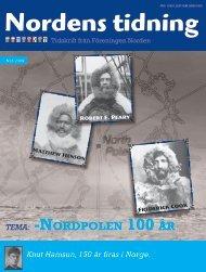 Nordens Tidning nr 3 2009 - Föreningen Norden