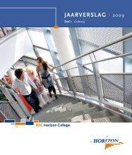 Jaarverslag 2009 deel 1 (Onderwijs) - Horizon College