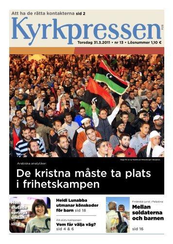 Kyrkpressen 13/2011 (PDF: 3.4MB)
